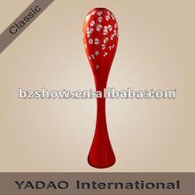 Single resin flower vase