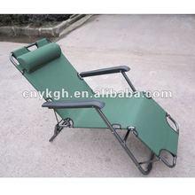 Folding fabric chaise lounge VLA-6001