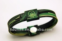 2012 Recycle silicone enviromental energy powercore balance bracelet