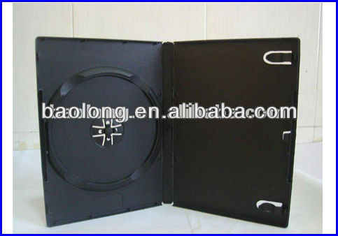 14MM DVD CASE black single cd cover standard BLD11470