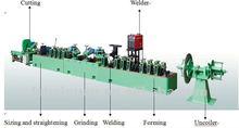 SS tube making machine for tubular heater