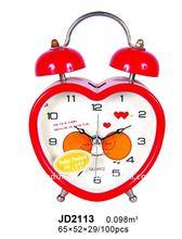 2014 home decoration Metal Alarm Clock Good Quality