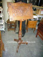 De madeira da igreja Pedestal atris / Speaker está