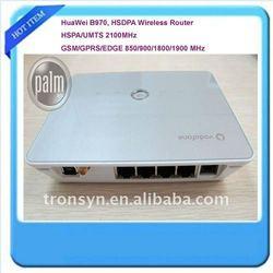 7.2Mbps Huawei B970 HSUPA/HSDPA WiFi Gateway 3G WiFi Router