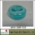 precioso jabóndebaño con esponja para la fragancia del océano