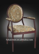 Aluminum material,Armrest Banquet Chair YC-D59