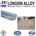 redonda de acero inoxidable barras de calefacción