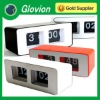 Hot sale digital flip clock retro flip down clock led cube clock