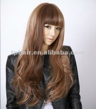 Mixed Color Synthetic Full Lace Wig Wholesale
