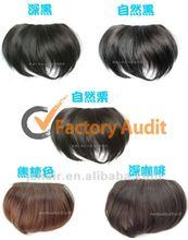 100% human hair bang / hair bang pieces/ hair fringe