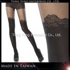 Taiwan Factory Rose Stockings Look Lady Pantyhose