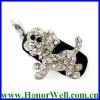 Beautiful Crystal USB Stick Dog