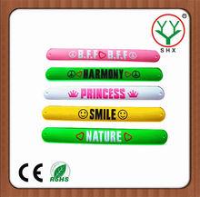 neon kids slap bracelets promotional items