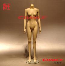 Fashion chain store window display Headless Female Mannequin