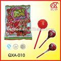 con sabor a fruta 20g bubble gum lollipop productos de confitería