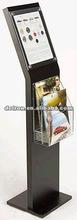 Metal display stand for brochure/leaflet/metal holder