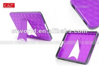 C&T Gel case for tablet Amazon Kindle Fire Flexible Gel Black Cover with holder in back