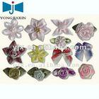 various ribbon bow and handmade silk flower