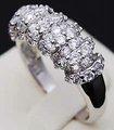 envío gratis de diamantes anillo de compromiso de blanco