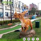 Real Resine Dinosaur Sculpture