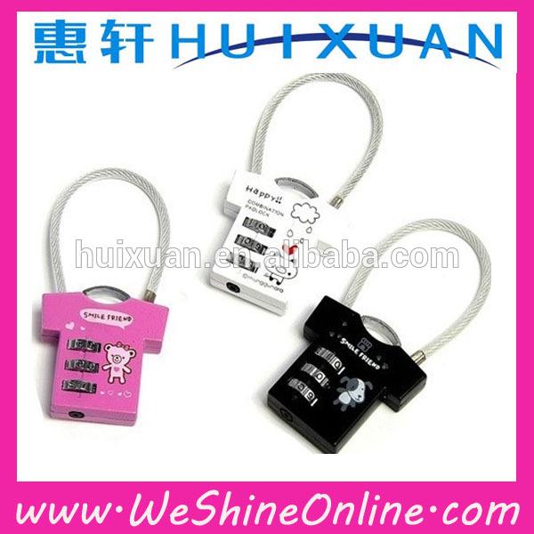 Alibaba express Safety Combination Lock / Luggage lock / digit Combination Lock