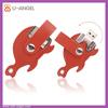 Cool Fish Shape Leather USB Flash Disk