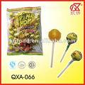 21g acidifient des bonbons à lucettes de bruit de Pin de bubble-gum