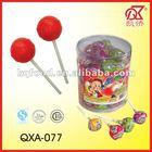 21g Halal Fruit Pop Bubble Gum Centre Lollies
