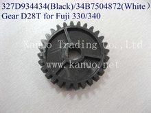 327D934434 ( negro ) / 34B7504872 ( blanco ) de engranaje D28T para Fuji Frontier 330/340