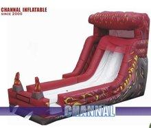 Safe inflatable slide jumping dry slides