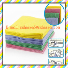 [FACTORY] Needle-punched nonwoven household wiper/floor cleaning rags/reusable kitchen dishrag