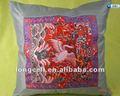 antico fatto a mano ricamata rosso sedia cuscini