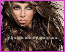 Fashion celebrity lace wig super wavy