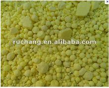 high purity Sulfur 99.9% granular