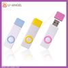 Novelty 4gb plastic usb memory stick,flat usb flash drive with customized logo