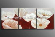 moderna parete tela arte floreale pittura decorativa