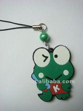 Frog fashion design mobile carton phones strap