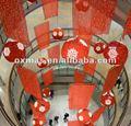 intérieur décoration de noël pour la décoration centre commercial atrium