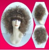 2014 fashionable halloween wigs curly wig custome wig