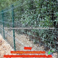 Green dip coating 1.8*3m welded The triangle bending guardrail nets(Factory)