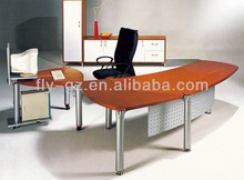 Metal frame office desk/MDF executive table design ET-37