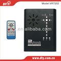 Pequeño de 2 canales tarjeta sd grabador de vídeo digital, vr7202