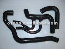 BLACK Silicone Intercooler Hose Kit for PEUGEOT 106 GTI CITROEN SAXO VTS COOLANT