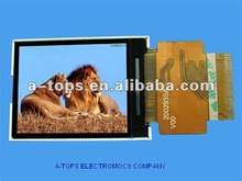 "3.2"" TFT LCD With 4 wire resistance touch screen"