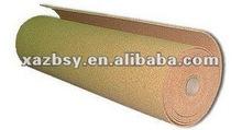 """QINBA"" Cork roll for underlayment/bulletin board material/gasket applications"