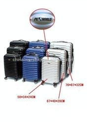 "ABS+PC Trolley Luggage with TSA lock 20""/24""/28"" 3PCS 2013 2014"