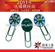 2012 mini cartoon soft pvc bookmark/promotion gift