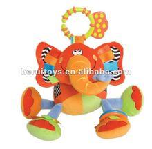 plush toy for baby Elephant stuffed doll&baby learning dolls&turkey plush stuffed toy