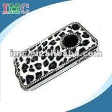 Unique Best Leopard Czech Rhinestone Case Cover Crystal(IMC-TOIPH-0444)
