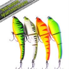 2012 Crazy Sales Plastic fishing lure jerk bait Snake Swimmer 130mm 20g